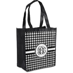 Houndstooth Grocery Bag (Personalized)