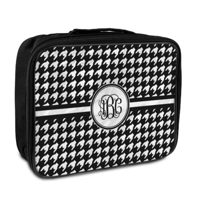 Houndstooth Insulated Lunch Bag (Personalized)