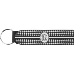 Houndstooth Keychain Fob (Personalized)