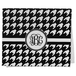 Houndstooth Kitchen Towel - Full Print (Personalized)