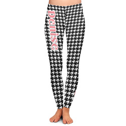Houndstooth Ladies Leggings (Personalized)