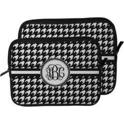 Houndstooth Laptop Sleeve / Case (Personalized)