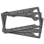 Houndstooth License Plate Frame (Personalized)