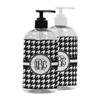 Houndstooth Plastic Soap / Lotion Dispenser (Personalized)