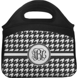 Houndstooth Lunch Tote (Personalized)