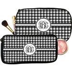 Houndstooth Makeup / Cosmetic Bag (Personalized)