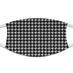 Houndstooth Cloth Face Mask (T-Shirt Fabric) (Personalized)