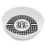Houndstooth Melamine Bowl 8oz (Personalized)