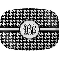 Houndstooth Melamine Platter (Personalized)