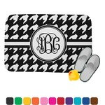 Houndstooth Memory Foam Bath Mat (Personalized)