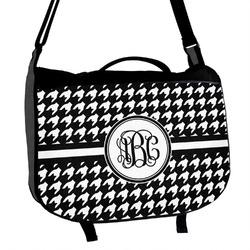 Houndstooth Messenger Bag (Personalized)
