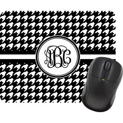 Houndstooth Rectangular Mouse Pad (Personalized)