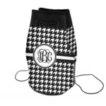 Houndstooth Neoprene Drawstring Backpack (Personalized)