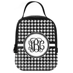 Houndstooth Neoprene Lunch Tote (Personalized)