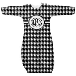 Houndstooth Newborn Gown - 3-6 (Personalized)