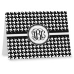 Houndstooth Note cards (Personalized)