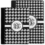 Houndstooth Notebook Padfolio w/ Monogram