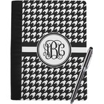Houndstooth Notebook Padfolio (Personalized)