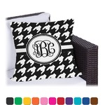 Houndstooth Outdoor Pillow (Personalized)