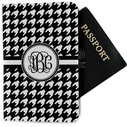 Houndstooth Passport Holder - Fabric (Personalized)