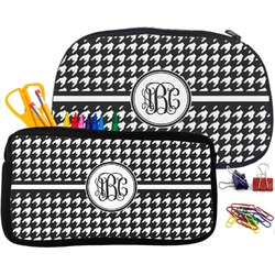 Houndstooth Pencil Case (Personalized)