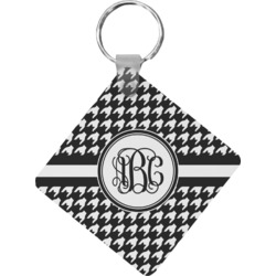Houndstooth Diamond Key Chain (Personalized)