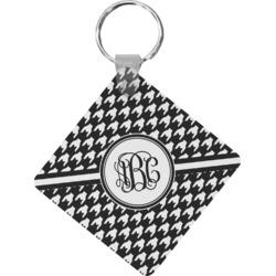 Houndstooth Diamond Key Chain (Personalized)