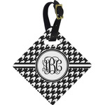 Houndstooth Diamond Luggage Tag (Personalized)