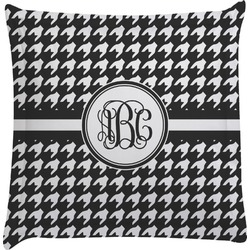 Houndstooth Euro Sham Pillow Case (Personalized)