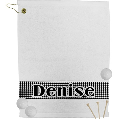 Houndstooth Golf Towel (Personalized)