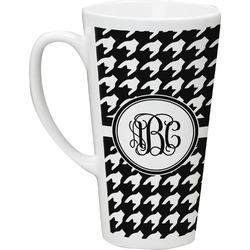Houndstooth Latte Mug (Personalized)