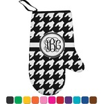 Houndstooth Right Oven Mitt (Personalized)