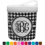 Houndstooth Plastic Ice Bucket (Personalized)