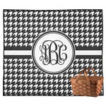 Houndstooth Outdoor Picnic Blanket (Personalized)