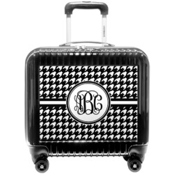 Houndstooth Pilot / Flight Suitcase (Personalized)