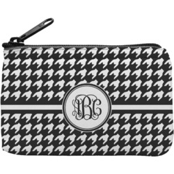 Houndstooth Rectangular Coin Purse (Personalized)