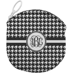Houndstooth Round Coin Purse (Personalized)