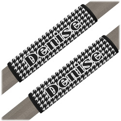 Houndstooth Seat Belt Covers (Set of 2) (Personalized)