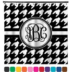 Houndstooth Shower Curtain (Personalized)