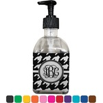 Houndstooth Soap/Lotion Dispenser (Glass) (Personalized)