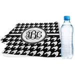 Houndstooth Sports & Fitness Towel (Personalized)