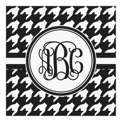 Houndstooth Square Decal - Custom Size (Personalized)