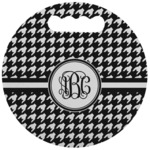 Houndstooth Stadium Cushion (Round) (Personalized)