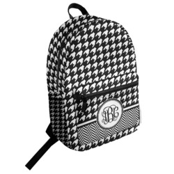 Houndstooth Student Backpack (Personalized)