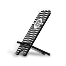Houndstooth Stylized Phone Stand (Personalized)