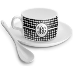 Houndstooth Tea Cups (Personalized)