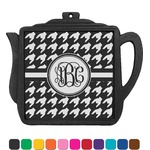 Houndstooth Teapot Trivet (Personalized)
