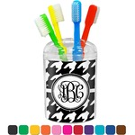 Houndstooth Toothbrush Holder (Personalized)