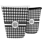 Houndstooth Waste Basket (Personalized)