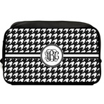 Houndstooth Toiletry Bag / Dopp Kit (Personalized)